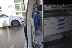 VW Transporter T6 2016 Sortimo Racking Putzmeister 009