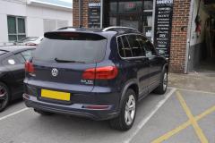 VW Tiguan 2014 Dash camera upgrade 002