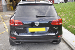VW Touareg 2012 reverse camera upgrade 002