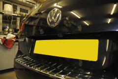 VW Touareg 2012 reverse camera upgrade 003