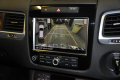 VW Touareg 2012 reverse camera upgrade 008