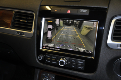 VW Touareg 2012 reverse camera upgrade 009