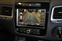 VW Touareg 2012 reverse camera upgrade 011