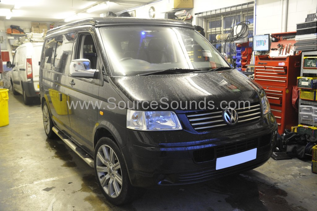 VW Transporter 2007 DAB Upgrade 001