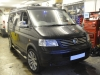 VW Transporter 2007 reverse camera upgrade 001