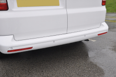 VW Transporter T5 2014 rear sensors white 003