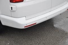 VW Transporter T5 2014 rear sensors white 007
