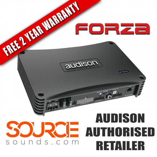 Audison Prima Forza APF89BIT 8 Channel Amplifier with 9ch DSP