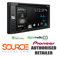 Pioneer AVICF9880DAB DD Navigation DAB Apple CarPlay Screen