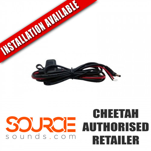 Cheetah C550 Hardwire Installation Power Lead