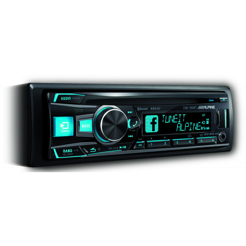 Alpine CDE-185BT Bluetooth USB AUX CD Stereo