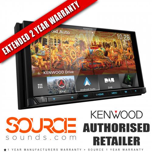 "Kenwood DNX9180DABS 6.8"" Android Auto/Apple CarPlay Bluetooth DAB Screen"