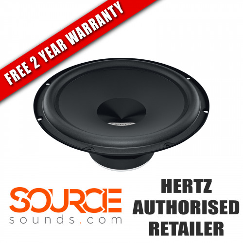 "Hertz Dieci DS300 12"" Subwoofer with Grill 4 Ohm (Ω)"