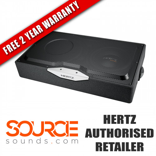 "Hertz Energy EBXF25.5 10"" Subwoofer Box - SLIM MOUNT 4 Ohm (Ω)"