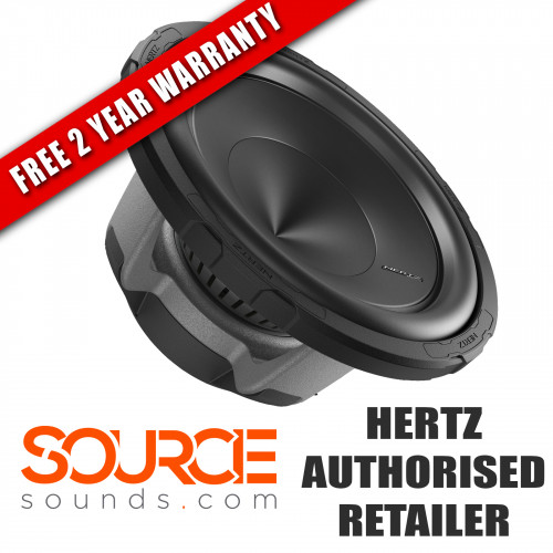 "Hertz Energy ES250D.5 10"" Subwoofer Dual 4 Ohm (Ω)"