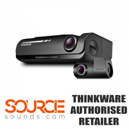 Thinkware F7702CH 1080p Dash Cam - Front and Rear