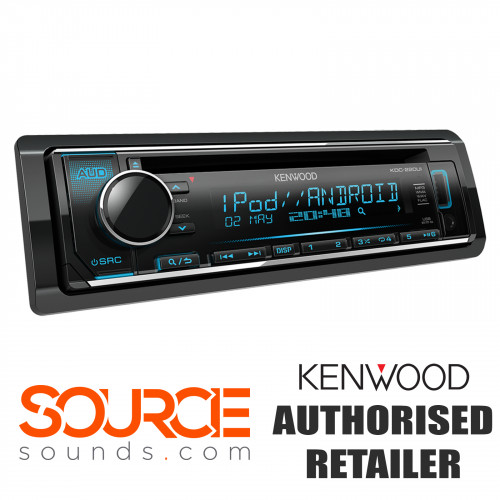 Kenwood KDC-220ui USB AUX CD Stereo