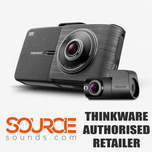 Thinkware X5502CH 1080p Dash Cam - Front and Rear